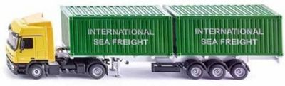 Truck with Container - 1:50 Scale