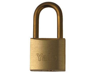 YaleYE1/50/126/1 M/P Padlock Brass 50Mm