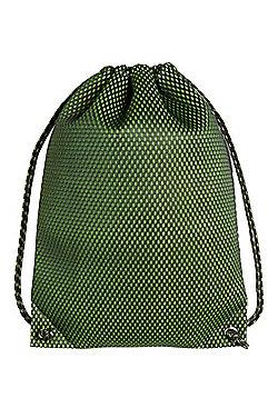 F&F Mesh Overlay Drawstring Bag