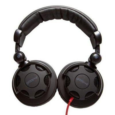 Groove-E Jamz Professional DJ Headphones - Black