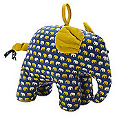 Ulster Weavers Fabric Elephant Shaped Door Stop 8ELE35