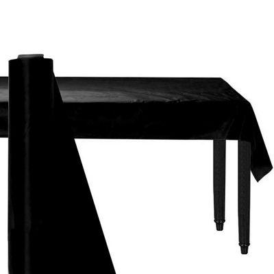 Black Table Roll - 30m Plastic