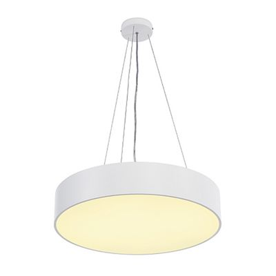 Medo Ceiling Pendant Light Round White Home Lighting Decor