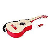 Hape Vibrant Red Guitar - Educational