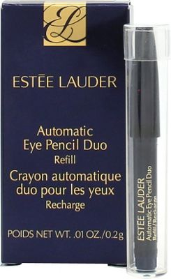Estee Lauder Automatic Eye Pencil Duo 0.2g Refill in Jet Black + Smudger