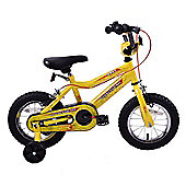 "Professional Spider 14"" Wheel Boys Bike Yellow"