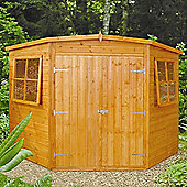 Corner Shed 7x7 by Finewood