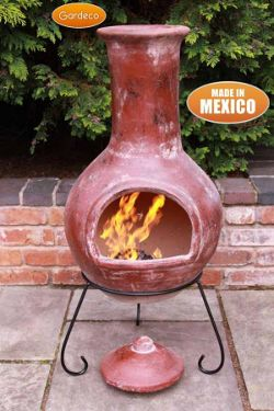 chiminea sale smoking hot deals on clay iron bbq chimineas. Black Bedroom Furniture Sets. Home Design Ideas
