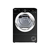 Hoover Condenser Tumble Dryer DX C8TCEB - Black with Chrome Door