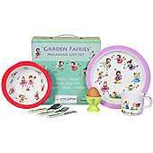 Children's Melamine Dinner Set 7 pc - Garden Fairies