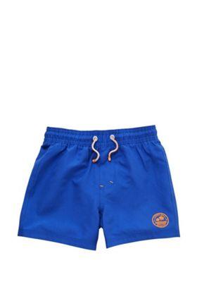 F&F Badge Board Shorts Cobalt 3-4 years