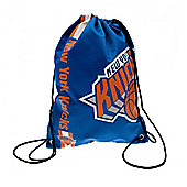 NBA Basketball New York Knicks Cropped Logo Drawstring Backpack 49x34x1.5cm