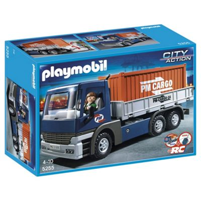 Playmobil 5255 Cargo Truck with Container and Driver