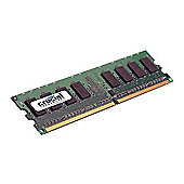Crucial DesktopP 2GB DDR2 800MHz (PC2-6400) CL6 Unbuffered UDIMM 240pin