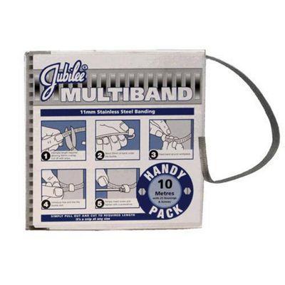 Jubilee Multiband Mild Steel 11mm 10M Pack