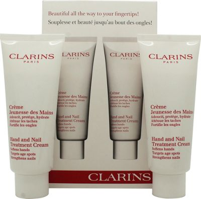 Clarins Gift Set 2 x 100ml Hand & Nail Treatment