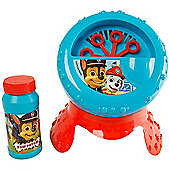 Paw Patrol Bubble Blower Machine