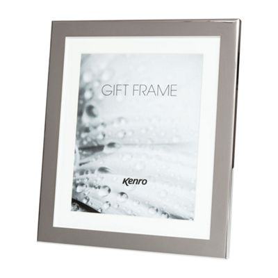 Kenro Eden Delicate Polished Silver Photo Frame to hold a 8x6
