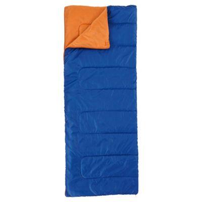 Tesco 200gsm Rectangular Sleeping Bag Blue