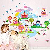 Little Princess Children's Wall Stickers