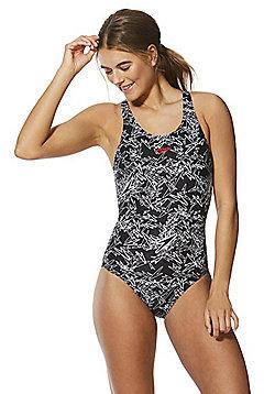Speedo Endurance®10 Boom Muscleback Swimsuit - Black/White