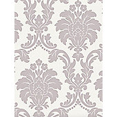 Romeo Damask Wallpaper - Blush - Arthouse 673501