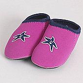 Banz Shore Feet Padders Pink Shoe Size Small 18-24 Moths