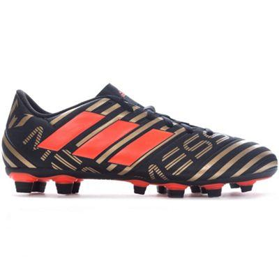 adidas Nemeziz Messi 17.4 Firm Ground Football Boot Black Skystalker - UK 11