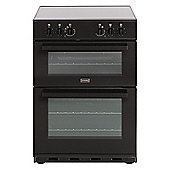 Stoves SEC60DO A Rated Electric Double Oven with 90 litre Capacity & 4 Zone Hob