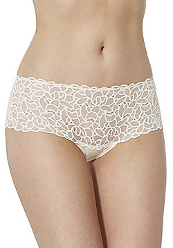 F&F Floral Lace Shorts - Rose nude