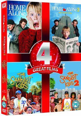 Home Alone 1 & 2/The Sandlot 1 & 2 (DVD Boxset)