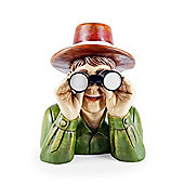Large Nosey Neighbour Novelty Polyresin Garden Feature Ornament