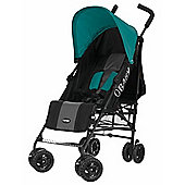 OBaby Atlas Stroller (Grey Stripe/Turquoise)
