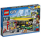 LEGO City Town Bus Station 60154