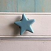 Blue Star Ceramic Drawer Knob