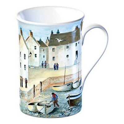 Creative Tops Cornish Harbour Fine Bone China Mug in a Giftbox