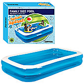 Garden Extra Inflatable Rectangular Swimming Pool 3m