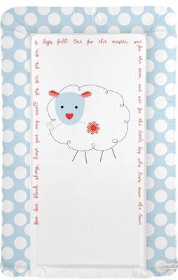 Babywise Baby Changing Mat - Baa Baa Black Sheep (Blue)
