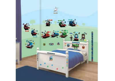 Walltastic Thomas & Friends Room Decor Kit - 79 Stickers