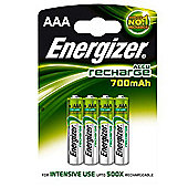 Energizer AAA 700 Mah Rechargable Batteries (4 Pack)