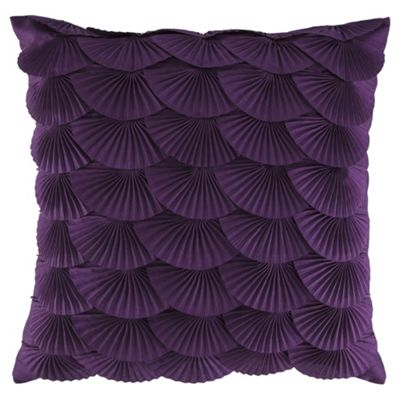 Fan Cushion Purple