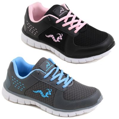 2 X Woodworm Lxt Ladies Running Shoes / Trainers Size 4.5