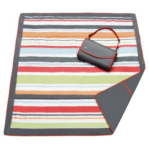 JJ Cole 5x5 Blanket Gray/Red