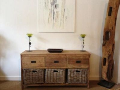 Reclaimed Teak Storage Unit