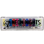 W7 Neon Nights Electric Eye Shadow Colour Palette