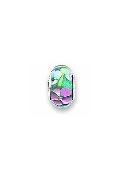 Jo For Girls Summer Flower Glass Slide On Bead
