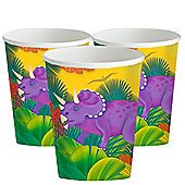 Prehistoric Party Paper Cups - 8 Pack