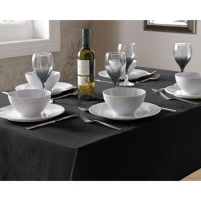 Select Oblong Tablecloth 135x180cm - Black
