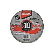Makita D18764-10 Cutting Discs 115mm (Pack 10)