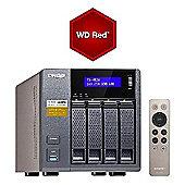 QNAP TS-453A-4G/8TB-RED 4-Bay 8TB (4x2TB WD Red) Network Attached Storage